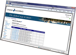 Online Mooring - Wait list application, publication, and assignment